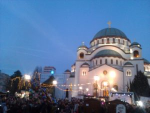 Božićno seoce 2019 kod Hrama Svetog Save