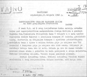 Masakr u Drakuliću,Šargovcu i Motikama ubijeno 551 dete