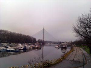 Šine na Mostu na Adi biće postavljen do kraja maja sledeće godine
