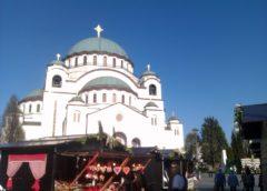 Uskrs u Beogradu : Danas je u Beogradu počeo Vaskršnji festival kod Hrama Svetog Save