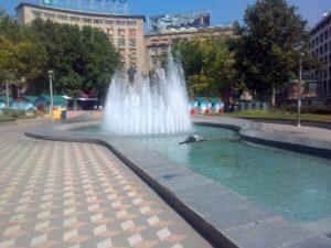 Veliko klizalište na Trgu Nikole Pašića – Staza ljubavi