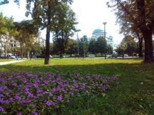 Park Milutina Milankovića u Beogradu