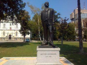 Spomenik Milutinu Milankoviću u Beogradu