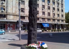 Spomenik obešenima na Terazijama u Beogradu