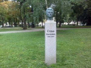 Spomen – bista Stevan Raičković