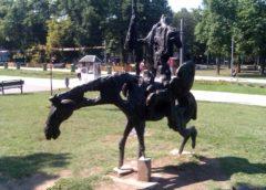 Skulptura Don Kihot u Beogradu