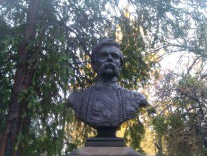 Spomen-bista Marku Miljanovu u Beogradu