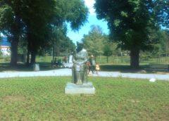 Spomenik Desanki Maksimović u Beogradu