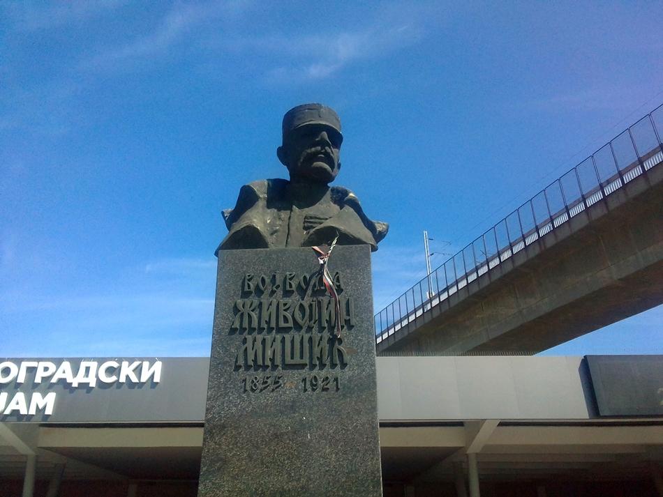 Spomenik Vojvodi Zivojinu Misicu U Beogradu Beogradske Vesti