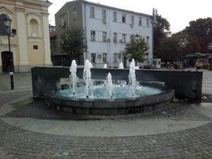 Fontana na Omladinskom trgu u Zemunu
