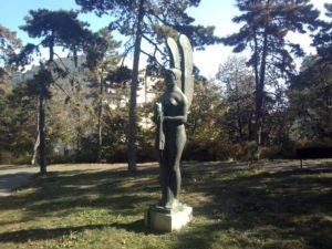 Skulptura Genije smrti u Beogradu