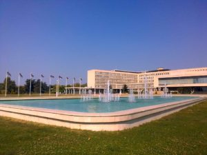 Fontana kod Palate Srbije