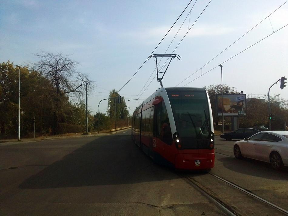 Radovi na tramvajskoj okretnici Kalemegdan (Donji grad)