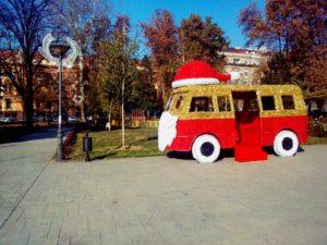 Beogradska zima: Novogodišnji park Manjež za decu