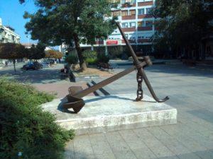 """Skulptura """"Sidro"""" u Mladenovcu"""