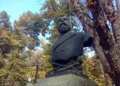 Spomen-bista Đuri Jakšiću u Beogradu