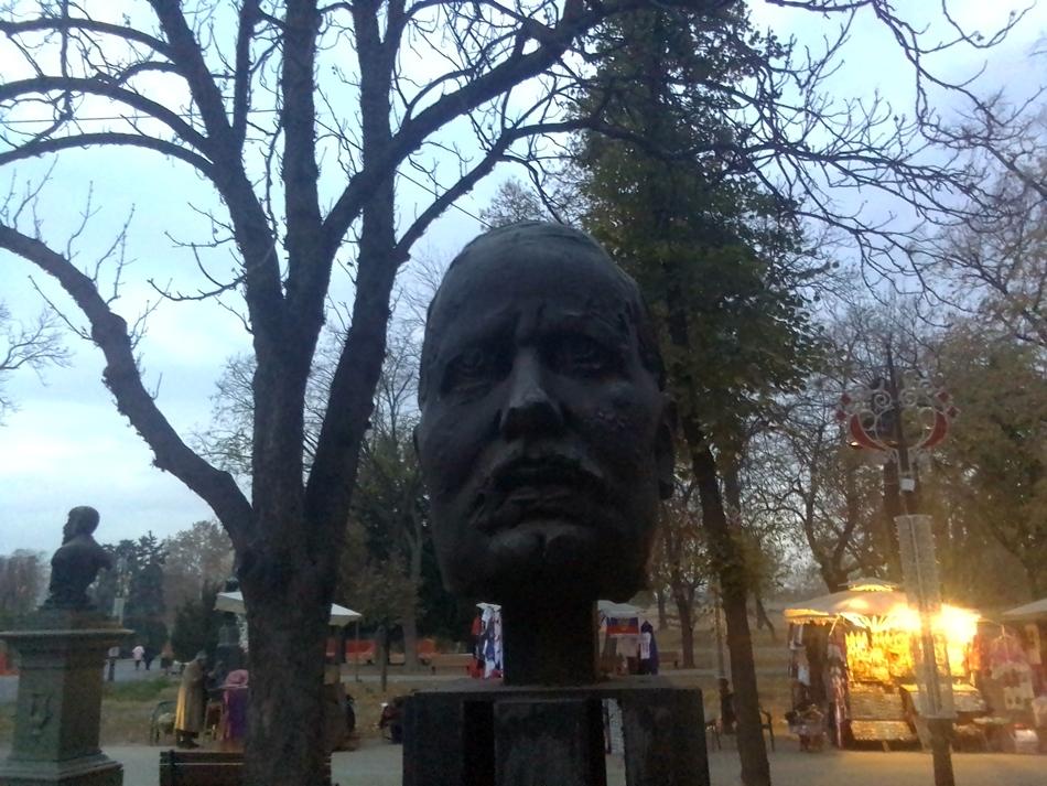 Spomen-bista Borisava Stankovića u Beogradu