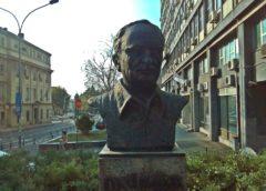 Spomen bista Dušku Radoviću u Beogradu