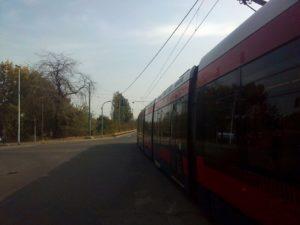 Zbog kiše tramvaji u Beogradu stajali