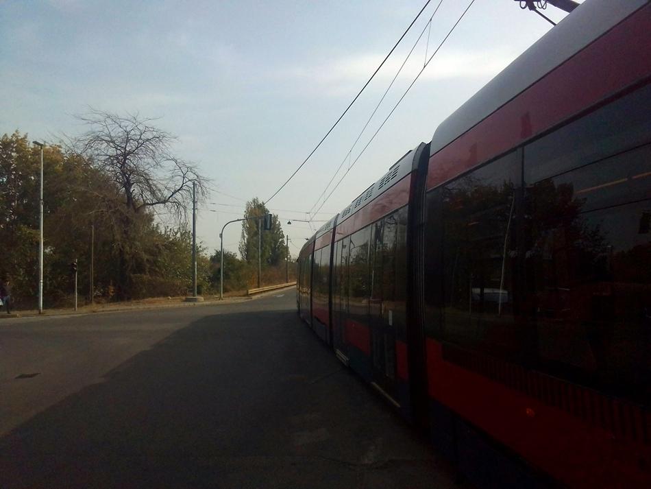 Tramvaj na liniji 11 u Beogradu