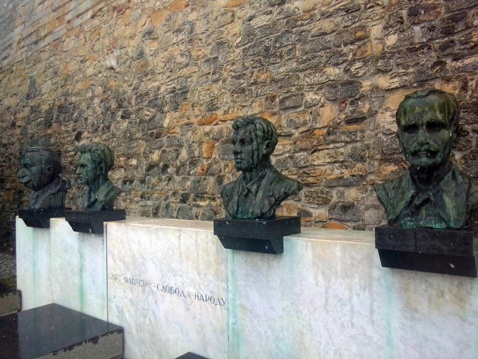 Grobnica narodnih heroja na Kalemegdanu u Beogradu
