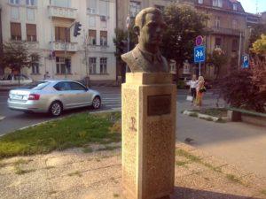 Spomen bista Đure Đakovića u Beogradu