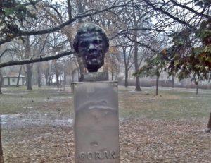 Spomen-bista Ivanu Goranu Kovačiću u Beogradu