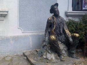 Spomenik Đuri Jakšiću u Beogradu- Skadarlija