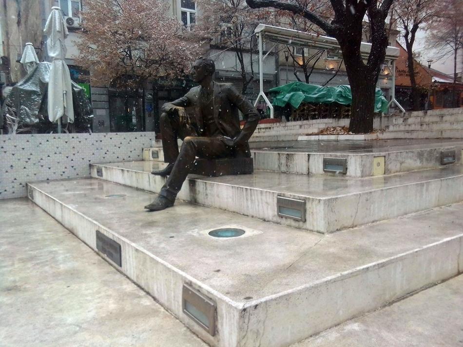 Spomenik Borislavu Pekiću u Beogradu