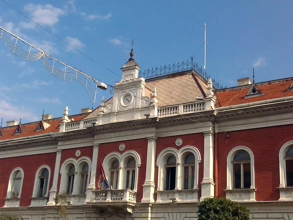 Zgrada pošte u Zemunu