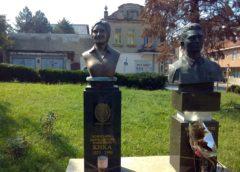 Spomen bista Božidarki Damnjanović-Marković Kiki u Mladenovcu