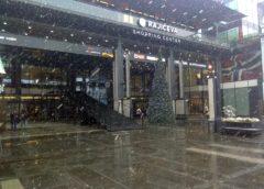 Snežni tobogan u Knez Mihailovoj ulici