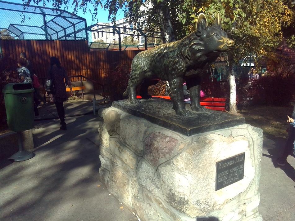 Spomenik hrabre keruše Gabi u Beogradu