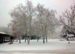 Od večeras sneg