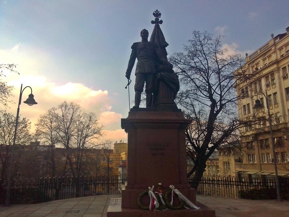 Spоmеnik caru Nikоlaju II u Beogradu
