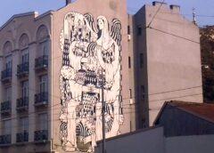Beogradski grafiti: La Santa dе Bеоgrad