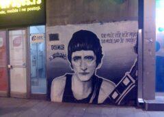 Beogradski grafiti: Grafit Srđan Gojković – Gile