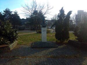 Spomen bista Džavaharlal Nеhru u Beogradu