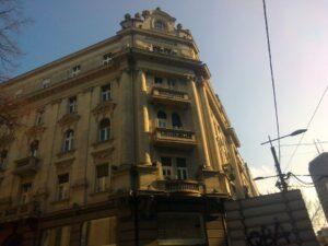 Zgrada u ulici Кralja Milana br. 1 – Beograd
