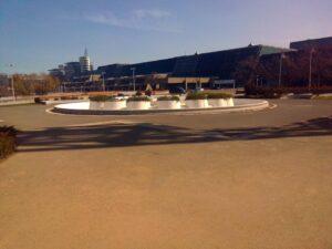 Fontana kod Sava centra u Beogradu