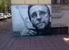 Mural glumac Bogdan Diklić