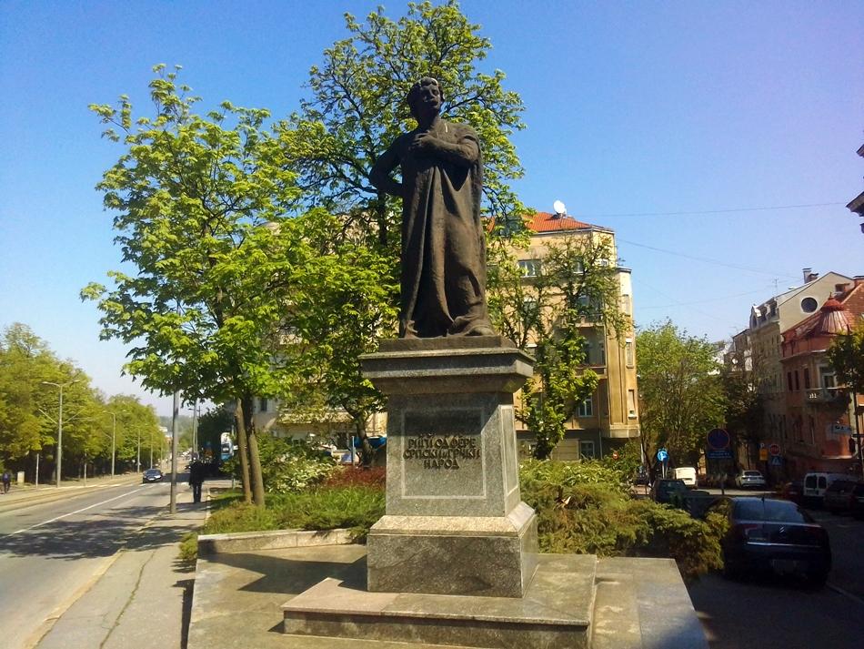 Spomenik Riga od Fere u Beogradu