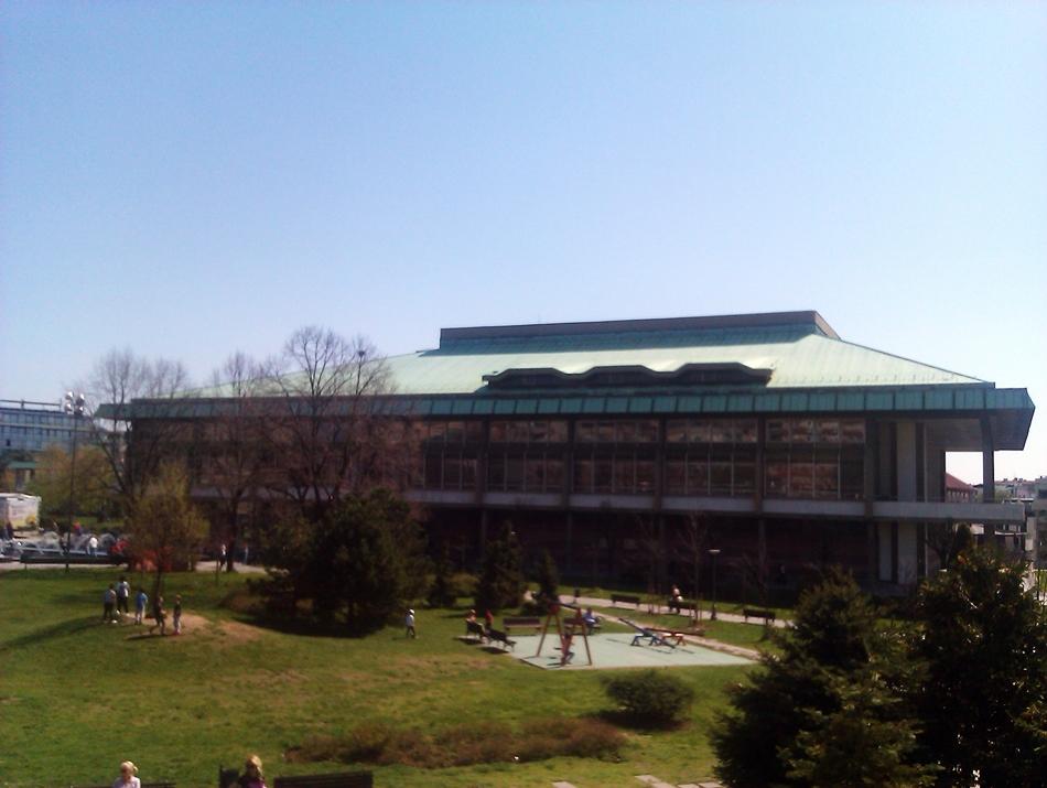 Zgrada Narodne biblioteke Srbije u Beogradu