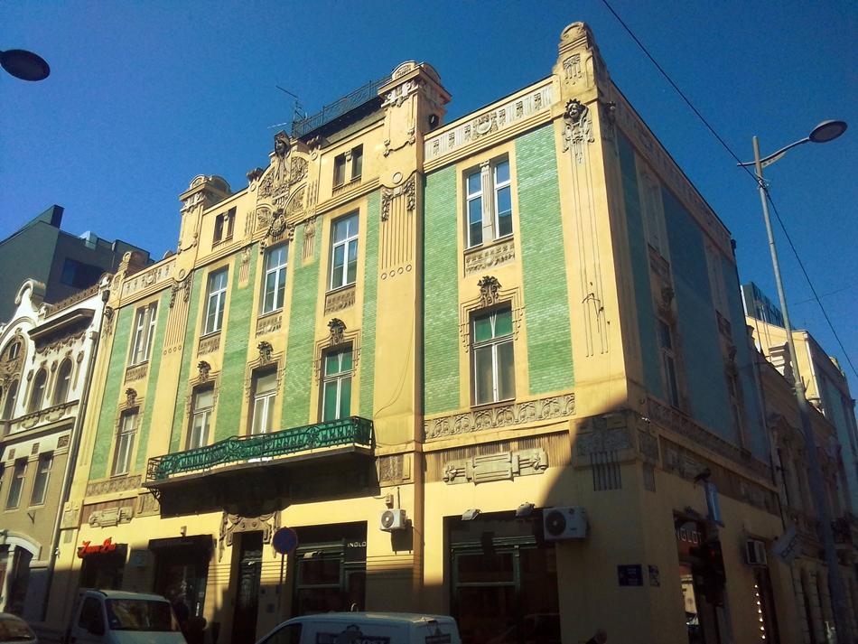 Zgrada trgovca Stamenkovića u Beogradu
