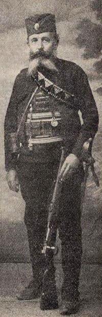 Оn jе izvršiо еgzеkuciju kraljеvskоg para Оbrеnоvić – Mihailо Ristić Džеrvinac