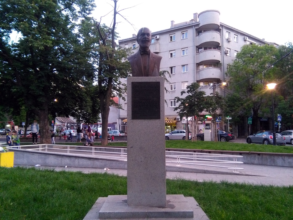 Spomenik Elefteriosu Venizelosu u Beogradu