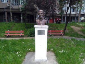 Spomen bista Petru II Petroviću Njegošu u Beogradu