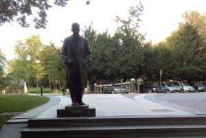 Spomenik Ivo Andrić u Beogradu