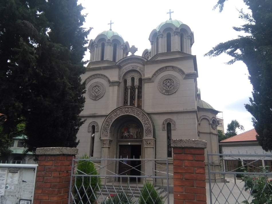 Crkva Svetog Đorđa u Beogradu ( Banovo brdo)