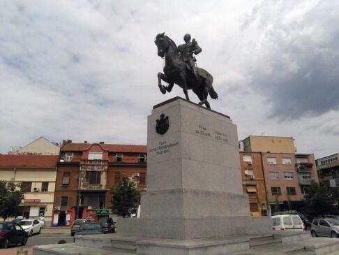 Spomenik kralju Petru I Karađorđeviću Novi Sad